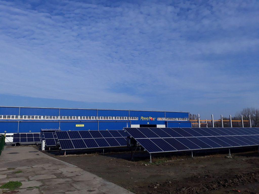 500 KWP kiserőmű – Békéscsaba