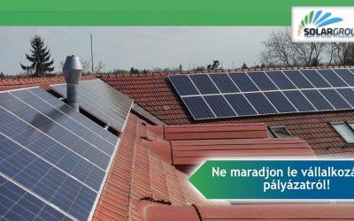 Rekordot döntött a hazai napenergia-termelés 2019 áprilisában!